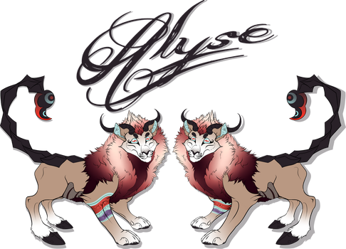 Alyse Character Reference Sheet by BygoneVersed