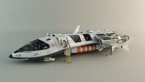 Spaceship - Concept by leccotamura