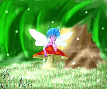 Fairy Gift Art by reef