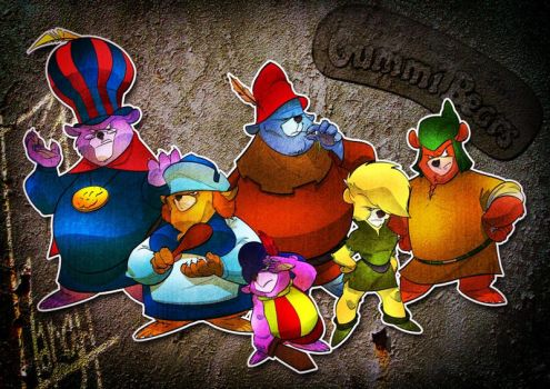 GUMMI BEARS the re-adventures by tanglong