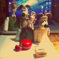 New Wallace and Gromit by frasierdalek