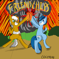 Friendchips and Explosions by Coconeru