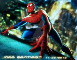 The Amazing Spider Man by joma33