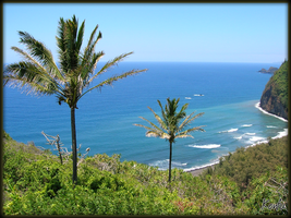 Hawaiian Coastline by Tomatogrower