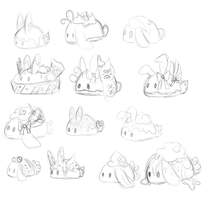 Bb Sketchs by Ambercatlucky2