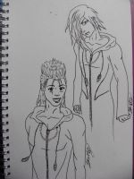 Demyx and Zexion Penned by Scream-Deafening