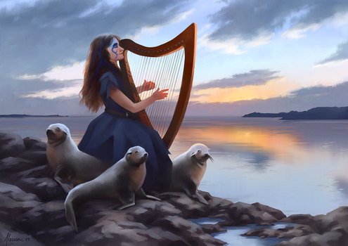 Daughter of the Wild Sea by Aliciane