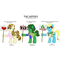 The hippies by FirstAwesomePlatoon