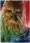 Star Wars Journey to the Force Awakens Chewbacca by DavidRabbitte