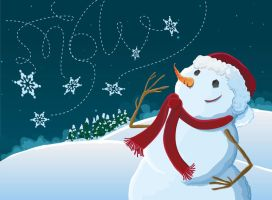 Snowman Promo by angiers