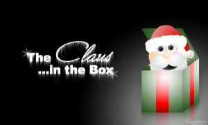 claus in the box by metalchainz