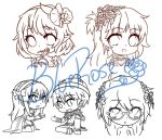 Alls Commission !! (?) xD *WIPS* by BlueRoseLoL
