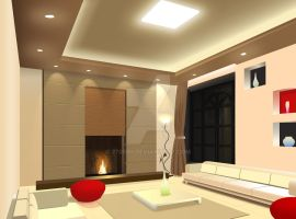 Living Room Interior Design by 270590