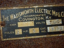 Old Electric Panel Box. by RainbowGuitars