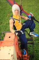Waiting for You - Riku KH Cosplay by Leon Chiro by LeonChiroCosplayArt