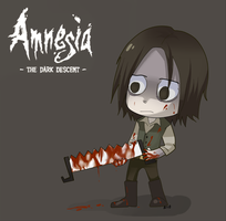 Amnesia- torture chamber by Mafer