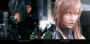 XIII Noctis AnD Lightning by ryoyami