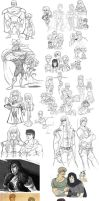 fist of the northstar-doodles5 by spoonybards
