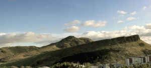 Holyrood Park from Calton Hill by Beachrockz4eva