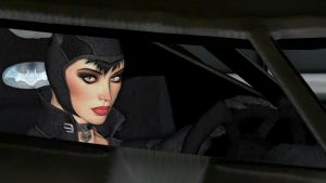 Sexy Catwoman Close Up View Driving by xSakuyaChan510x