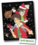 xmas card for animanga... by obsydia