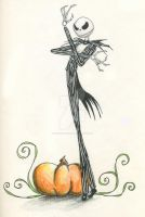 :Jack Skellington: by printingpony85