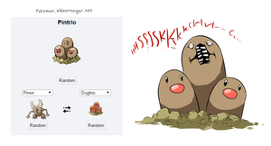 Pokemon Fusion TOHMYGOD by MamaTad