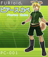 UTAU FURloid: Kabe Pierce Box Art by PolygonCount