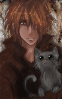 Dimi and a Kitty by Mai-Ekaki
