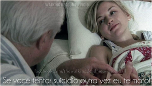 Beth and Hershel humor the walking dead by twdmeuvicio