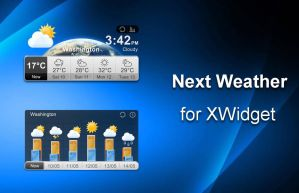 Next Weather (FLIP) for xwidget by jimking