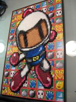 Bomberman Perler Bead Project by Dlugo1975