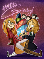 COM- Birthday of all sorts by Elixirmy