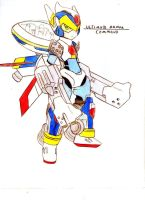 old concept megaman X 15 by MugenAtonman
