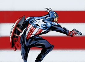 Star Spangled Man by krissthebliss
