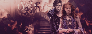 Thomas Sangster et Helena Barlow by AkilajoGraphic