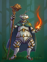 TinderTwig - Warforged Druid by Oni-Tier