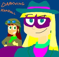 Darkwing Kendall by TXToonGuy1037