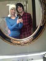 Fionna and Marshall Lee by FullmetalsGirl13