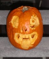 Inspired Pumpkin 2009 by plushbug