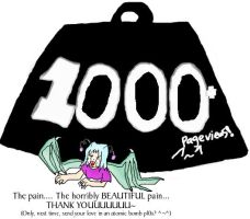 1000 Pageviews???? by Ms-Silver