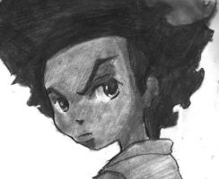 Huey - The Boondocks by optimusjimbo