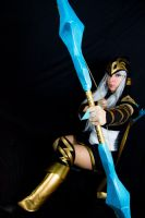 Ashe - League of Legends - 3 by LucyWindrunner