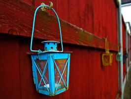 Fence Lantern by friartuck40