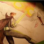 Star Wars: a work in progress... by PencilFairy
