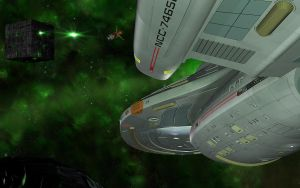 Voyager-Borg vs Species 8472 by Energy6