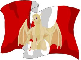 Canada Dragon by Icy-Marth