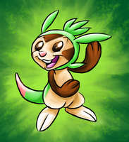 Chespin by xXCystalTheWolfXx