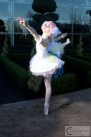 Princess Tutu Cosplay: Dancing in the Garden by HatterSisters