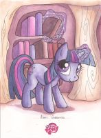 Twilight Sparkle - Agnes Garbowska by IDWLimited